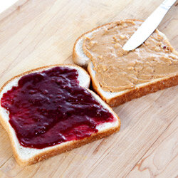 Come on. You can do better than white bread smeared with peanut butter and grape jelly.
