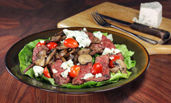 Steak is a great protein to add to your salad.