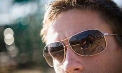 Every guy needs a good pair of sunglasses.