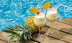 Tired of boring water? How about a frozen concoction by the pool this summer instead? See more pictures of cool food and drinks for summer.