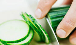Add cucumbers to your diet for a boost in vitamins C, K and B5.