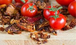 Sun-dried tomatoes can add a little kick to any recipe. See more pictures of heirloom tomatoes.
