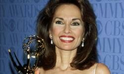 Susan Lucci with her 1999 Daytime Emmy.
