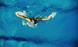 Swimming will strengthen your lung capacity, which can improve asthma symptoms.