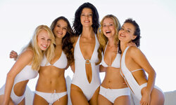 You don't have to be a glamazon to look great in a bathing suit!