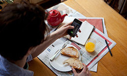 Could you imagine paying your bills over the phone at breakfast? Now, you can.