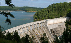 Dams are another good place to visit to learn a thing or two about water.