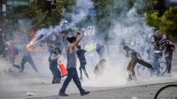Tear Gas Used at Protests May Help Spread Coronavirus