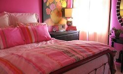 Bold colors and fun patterns are popular teen choices that parents can get behind.