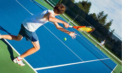 Tennis will help you get in to shape -- fast!