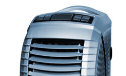 You can push modern air conditioners from one room to the next, and you don't have to shove them into windowsills.