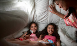 It's natural for your tween to start wanting a little privacy to share secrets with friends.