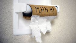 What's Scarier: No Toilet Paper or Wiping With One of These 5 Alternatives?