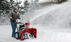 Don't leave yourself buried in snow because the blower is broken.