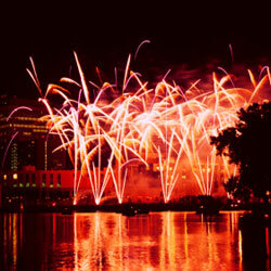 You can thank ancient Chinese alchemists for fireworks -- and bullets.