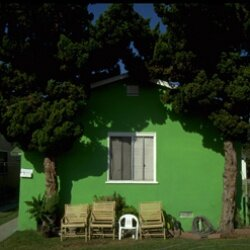 The paint on a house like this could be a deal breaker -- even if your house is a little way down the street.