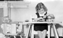 In every generation, little girls have loved their dolls.