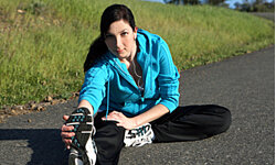 You don't have to be a runner to stretch - try stretching while talking on the phone.