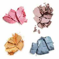 Bold colors and bright pastels are all the rage in eyeshadow this season.