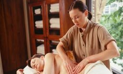 Your masseuse can massage specific pressure points known to reduce nausea.