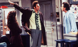 """One TV show that definitely influenced our speech is """"Seinfeld."""""""