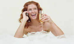 So, you're a multitasker. Embrace it, but take a break on your wedding day!