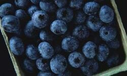 Blueberries have antioxidant and antibacterial properties.