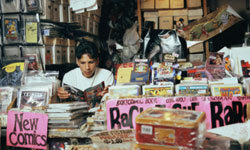 An obsessive interest in anything, such as comic books, can be a sign of geekdom.