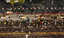 You'll breeze by the Walk of Stars on your way to the finish line at the L.A. Marathon.