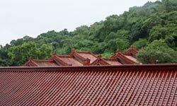"Both traditional and ""cool colored"" tiles can be good choices for cooling a steep-sloped roof."