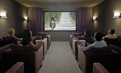 Home theaters are becoming increasingly popular in today's real estate market. But they're also increasingly expensive.