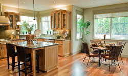 If you have an eat-in kitchen, the formal dining room may be unnecessary.