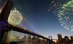 Emily Warren Roebling would have delighted in the sight of the Brooklyn Bridge celebrating its 125 anniversary in May 2008.