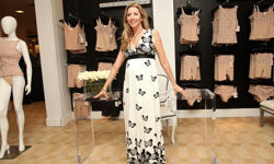 Sara Blakely turned panty line frustration into a big business. Here, she opens her Haute Contour line at Saks Fifth Avenue in New York City.