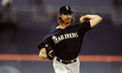 The Seattle Mariners traded pitching ace Randy Johnson to the Astros in 1998. He ended the season in Houston 10-1 with a 1.90 ERA and 116 strikeouts.