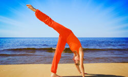 With practice, you'll master most yoga moves. Just don't force them in the beginning!