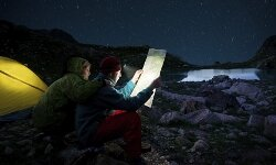 Camping in remote areas gives you the best chance to enjoy the stars. See more national park pictures.
