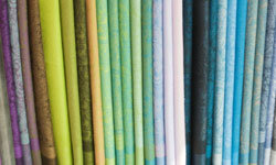 You can find a variety of silk scarves at thrift shops and vintage boutiques for pennies on the dollar.