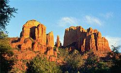The Mogollon Rim offers classic Arizona scenery.