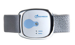 The BodyMedia FIT tracks your activity and presents it to you once you synchronize the device with a computer or smartphone.