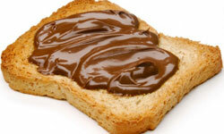 Nutella is just one potential ingredient for your dessert sandwich.