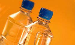 There's a 4,000 percent markup on bottled water.