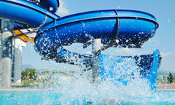 Many cities have water parks for your family to enjoy.