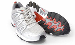 Even the most sedentary person couldn't resist the allure of shiny new running sneaks like these.