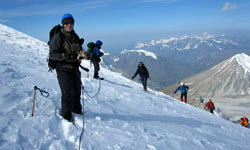 Mount Khuiten is one of the most remote mountains on the planet to climb.