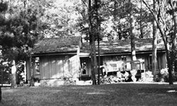 Camp David is a secure recreational home for the president.