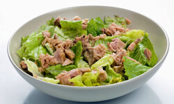 Grab some canned tuna to dress up your salad.
