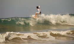 Cowabunga, Costa Rica-style! See more surfing pictures.