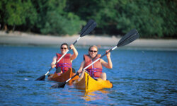 Your non-surfing companions can enjoy kayaking near Playa Jaco.