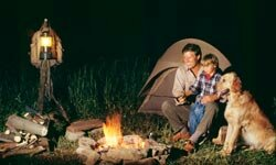 Image Gallery: Camping in Alaska Sitting by the campfire and telling stories are great camping activities. See more camping pictures.